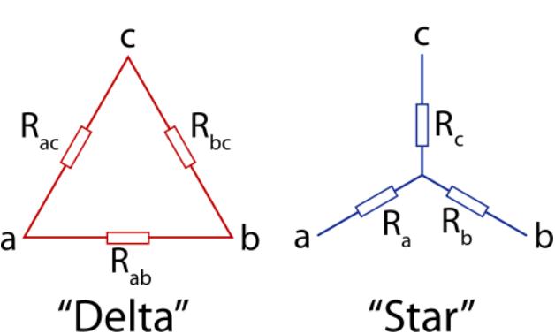 sơ đồ mạch sao tam giác